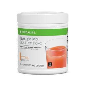 Bebida en Polvo Herbalife sabor Durazno Mango 9.63 Oz