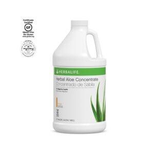 Concentrado de Sábila Herbalife sabor Mango 1_2 Gal