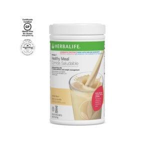 Fórmula 1 Comida Saludable Mezcla Nutricional para Batido Herbalife Proteínas Alternativas sabor Vainilla sin Ingredientes Transgénicos 810 g