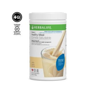 Fórmula 1 Comida Saludable Mezcla Nutricional para Batido Herbalife sabor Vainilla sin Ingredientes Transgénicos 750 g