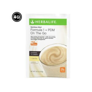 Formula 1 + PDM On The Go Herbalife Sobres 24g de proteína (7 u.)