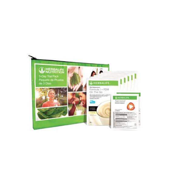 Paquete de Prueba de 3 Días con Total Control Herbalife Unidad