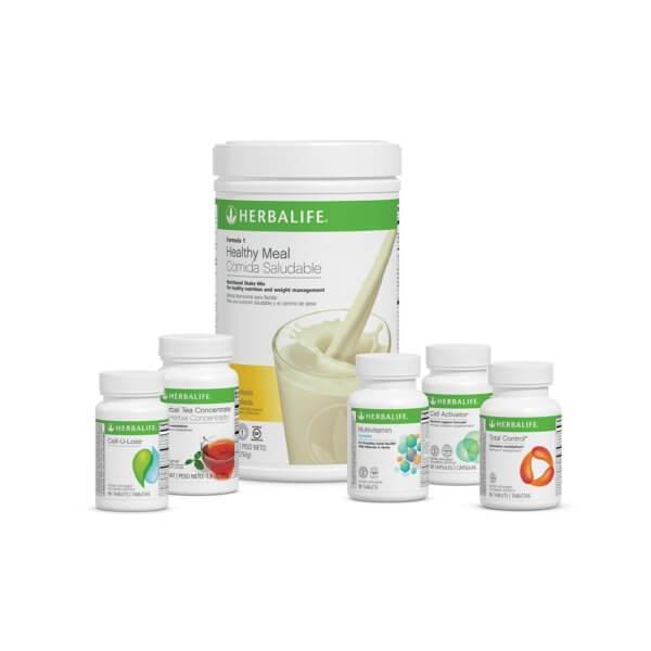 Programa Avanzado Herbalife sabor Piña Colada