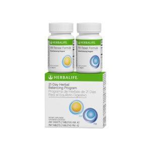 Programa de Hierbas de 21 Días para el Equilibro Digestivo 42 Tabletas para AM_42 Tabletas para PM