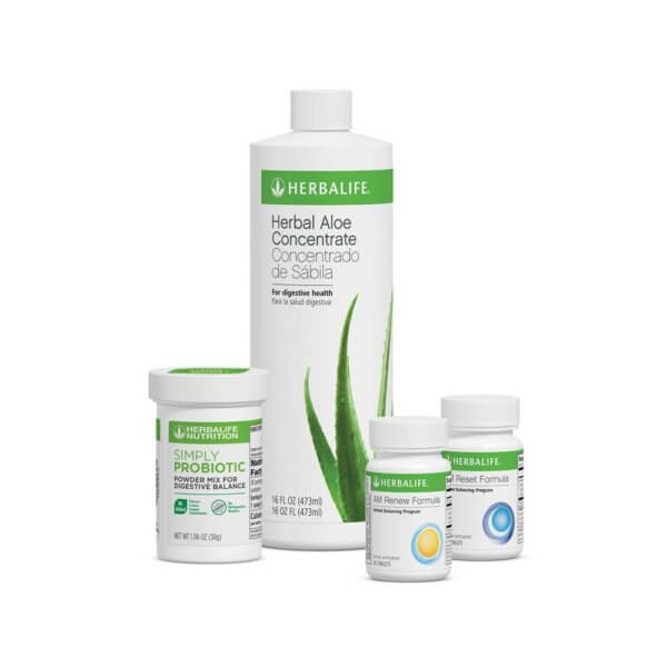 Programa de Salud Digestiva Herbalife sabor Natural