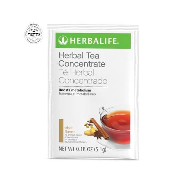 Té Herbal Concentrado Herbalife Sobres sabor Chai con Ingredientes no Transgénicos (15 u.)