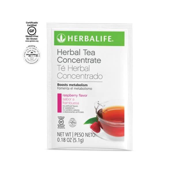 Té Herbal Concentrado Herbalife Sobres sabor Frambuesa (15 u.)