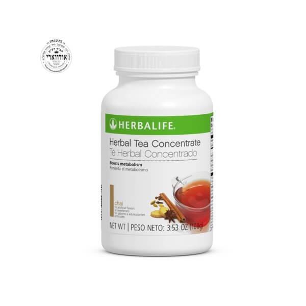 Té Herbal Concentrado Herbalife sabor Chai con Ingredientes no Transgénicos 3.53 Oz