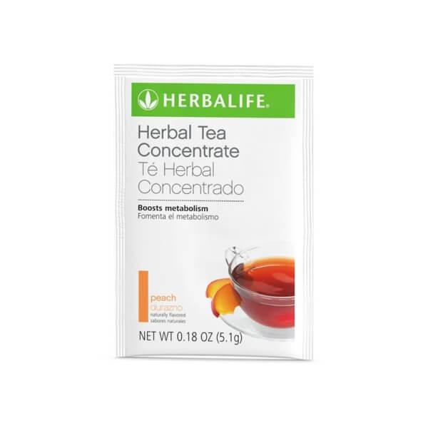 Té Herbal Concentrado Herbalife sabor Durazno (15 u.)