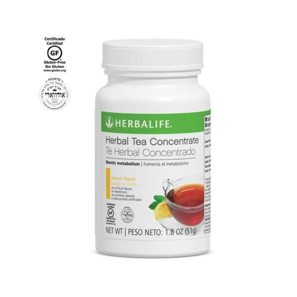 Té Herbal Concentrado Herbalife sabor Limón 1.8 Oz