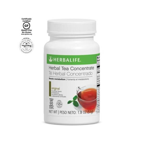 Té Herbal Concentrado Herbalife sabor Original 1.8 Oz