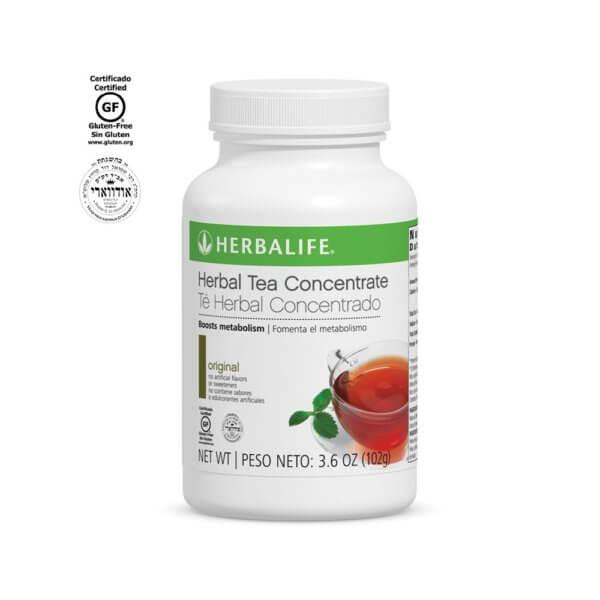 Té Herbal Concentrado Herbalife sabor Original 3.6 oz
