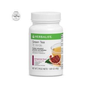 Té Verde Herbalife sabor Granada 1.69 Oz