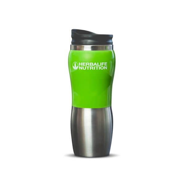 Taza de Acero Inoxidable Herbalife 14.5 Oz