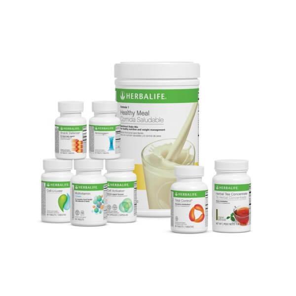 Ultimate (Programa Total) Herbalife sabor Piña Colada
