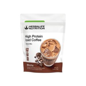 Café Helado Alto en Proteínas Herbalife sabor Mocha